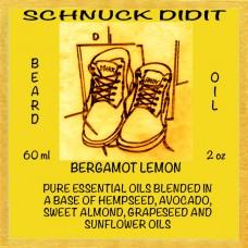 Beard Oil - Bergamot / Lemon