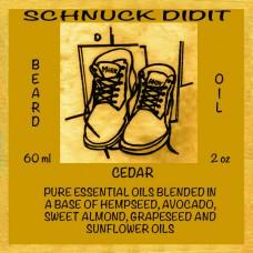 Beard Oil - Cedar
