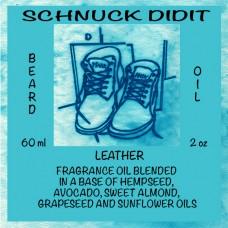 Beard Oil - Leather