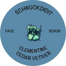 Face Scrub - Clementine / Cedar / Vetiver