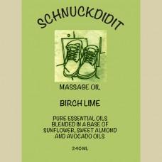Massage Oil - Birch / Lime