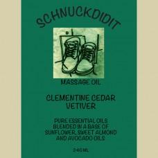 Massage Oil - Clementine / Cedar / Vetiver
