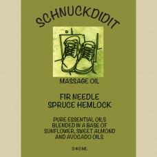 Massage Oil - Fir Needle / Spruce Hemlock