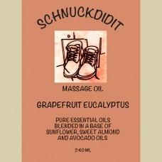 Massage Oil - Grapefruit / Eucalyptus