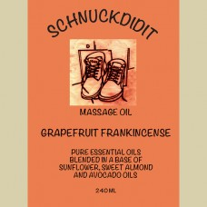 Massage Oil - Grapefruit / Frankincense