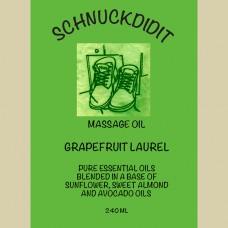 Massage Oil - Grapefruit / Laurel