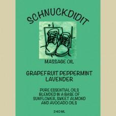 Massage Oil - Grapefruit / Peppermint / Lavender